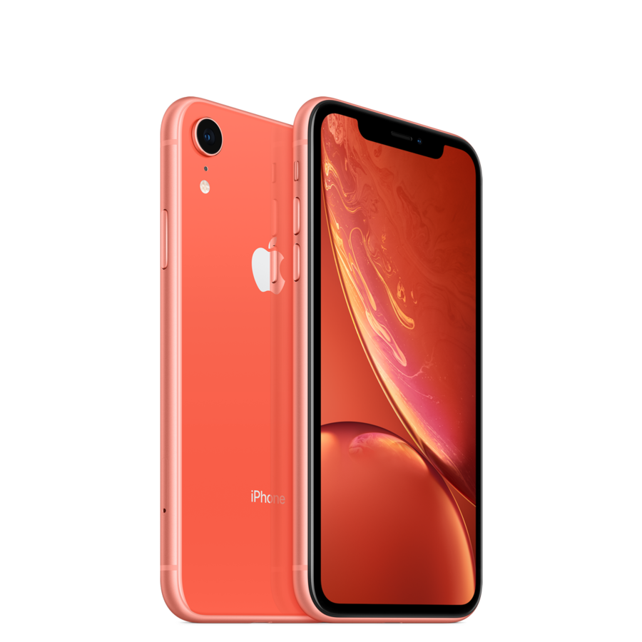 Refurbished iPhone XR 64GB Coral-1