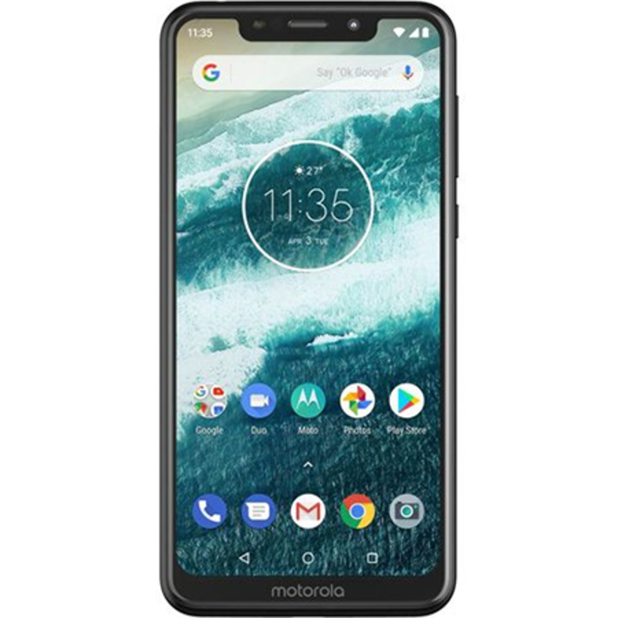 Motorola One 32GB Black (Black)-1