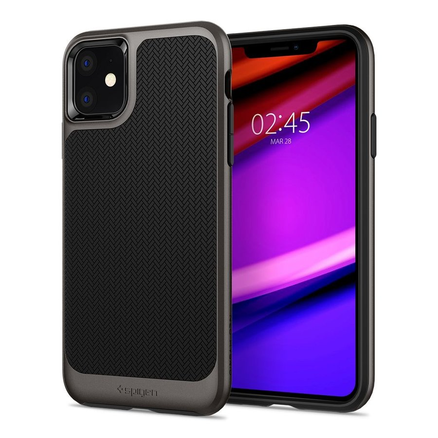 Spigen Neo Hybrid for iPhone 11 gun metal-1