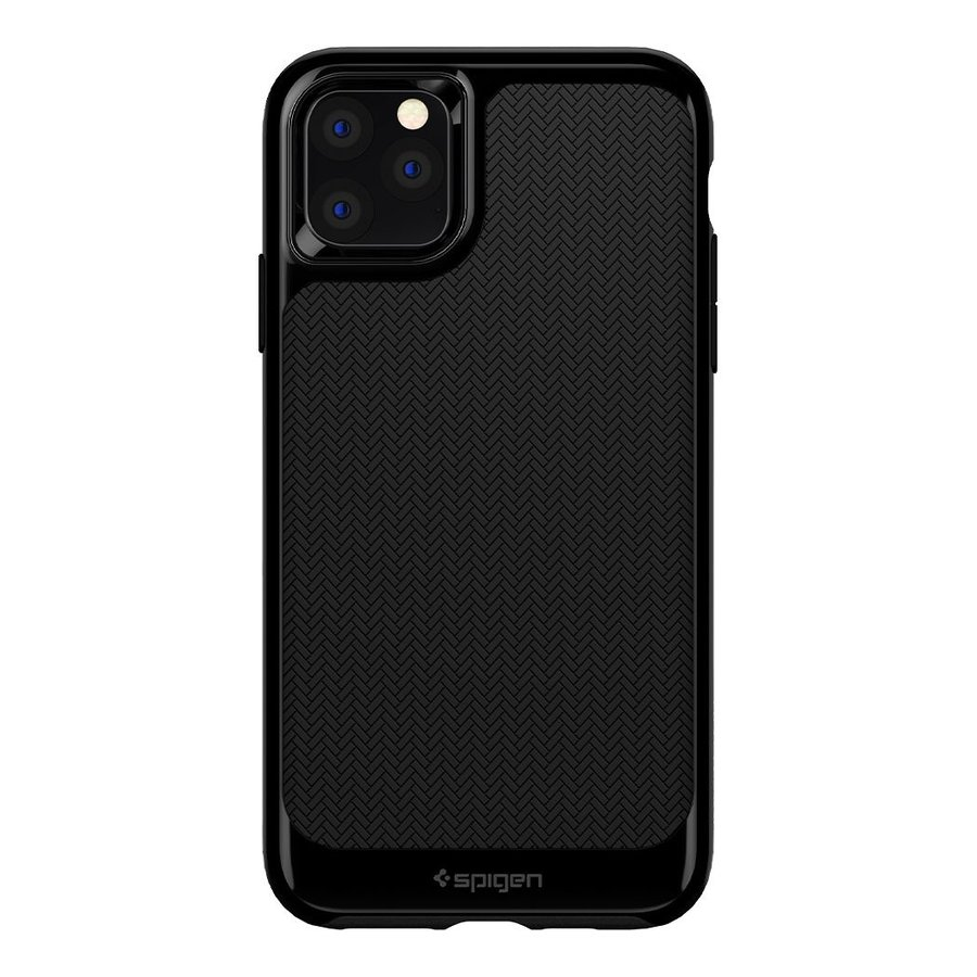 Spigen Neo Hybrid for iPhone 11 Pro shiny black-2