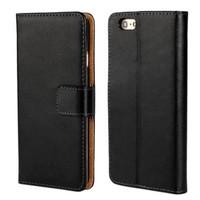 thumb-Movizy lederen walletcase iPhone 6(S) - zwart-1