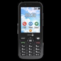 thumb-Doro 7010 seniorentelefoon - zwart-1
