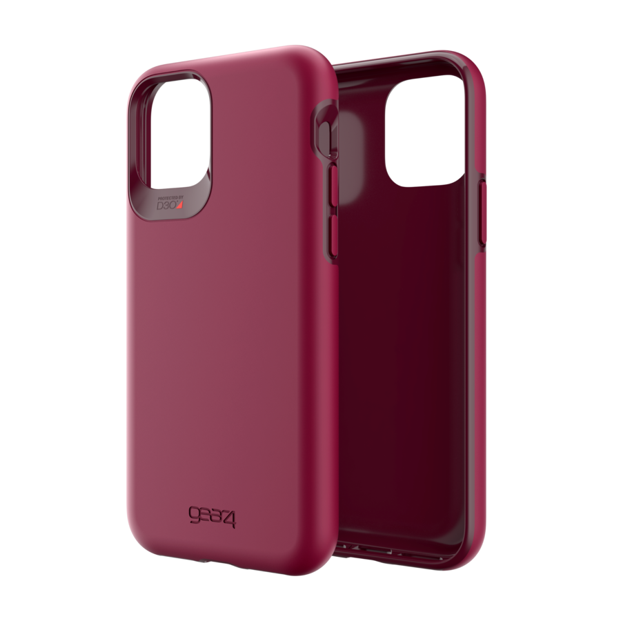 GEAR4 Holborn for iPhone 11 Pro Burgundy-2