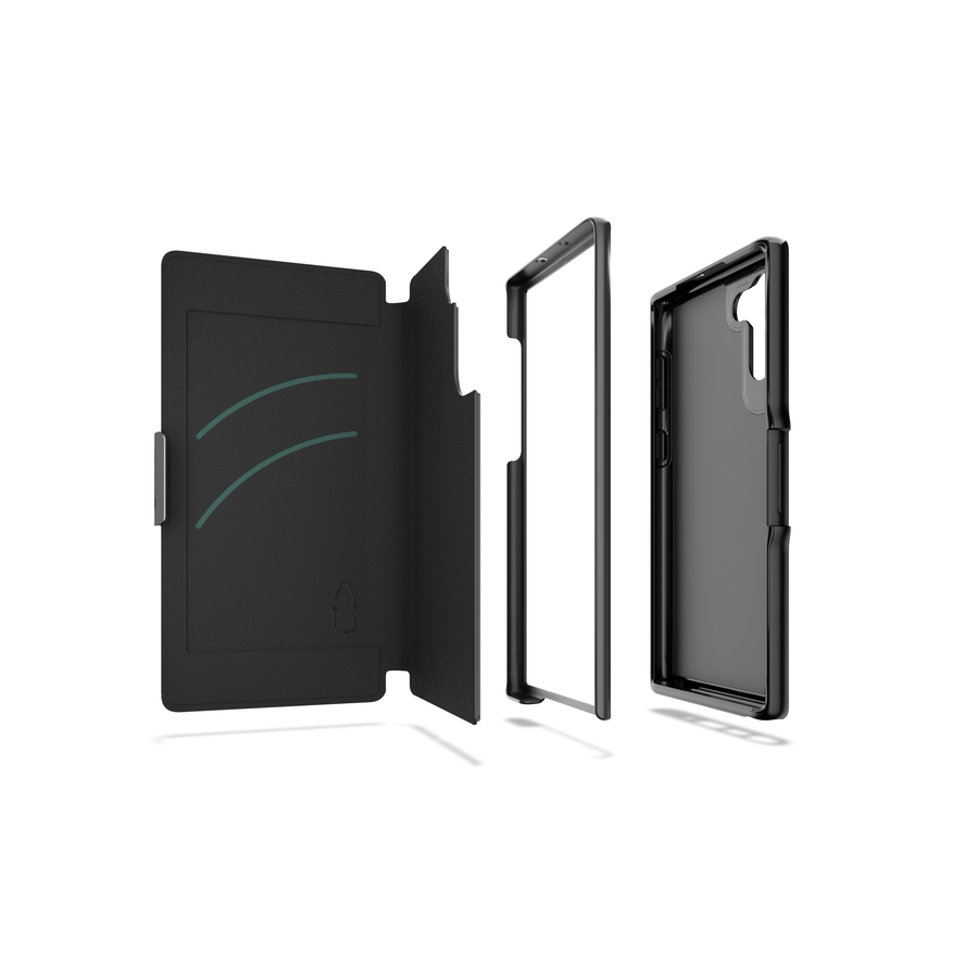 GEAR4 Oxford Eco for Galaxy Note 10 (6,3) black-1
