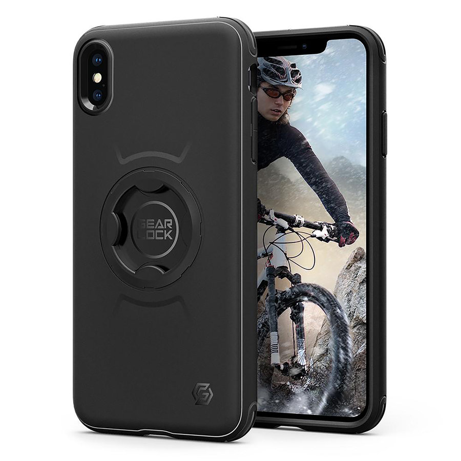 Spigen Gearlock CF103 Bike Mount Case for iPhone XS Max black-1