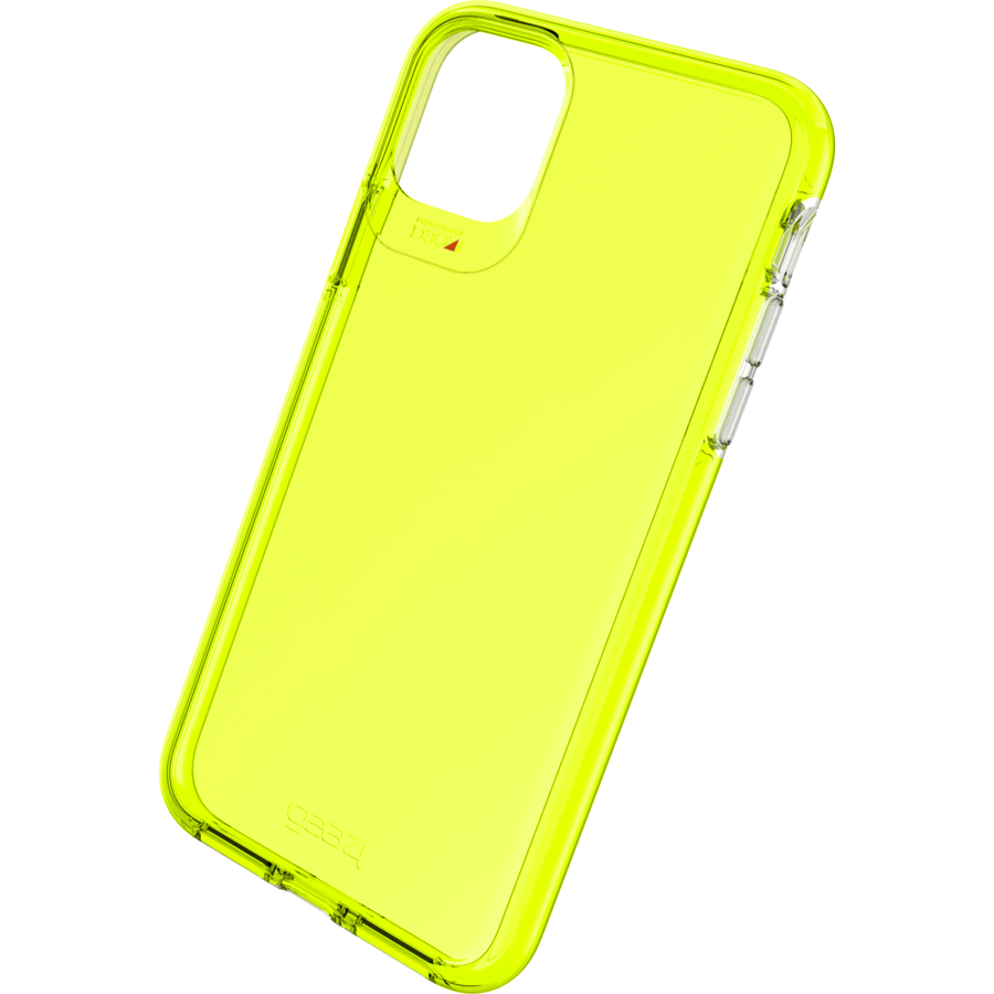 GEAR4 Crystal Palace Neon for iPhone 11 Pro Max yellow-1