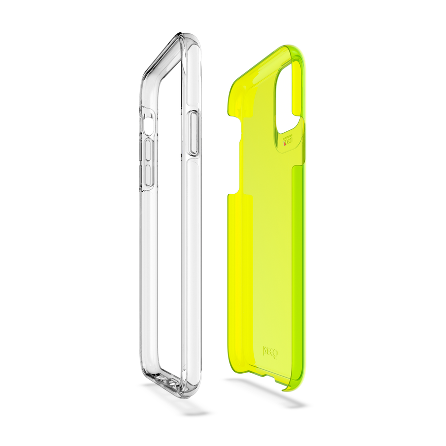 GEAR4 Crystal Palace Neon for iPhone 11 Pro Max yellow-2