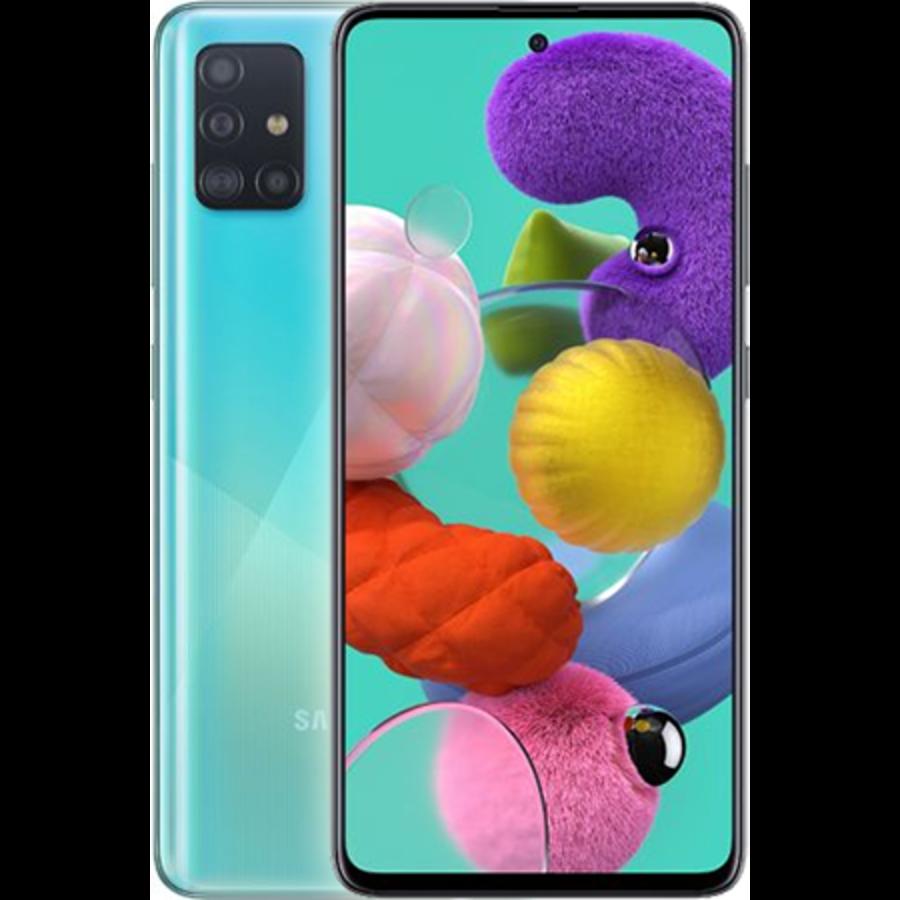 Samsung Galaxy A51 Dual Sim A515F 128GB Blue (128GB Blue)-1