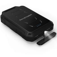 thumb-RAVPower 10.050mAh Rugged Portable Powerbank RP-PB044 (Black)-1