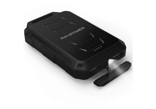 RAVPower 10.050mAh Rugged Portable Powerbank RP-PB044 (Black)