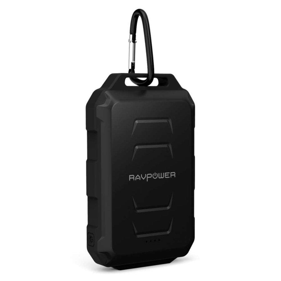 RAVPower 10.050mAh Rugged Portable Powerbank RP-PB044 (Black)-2