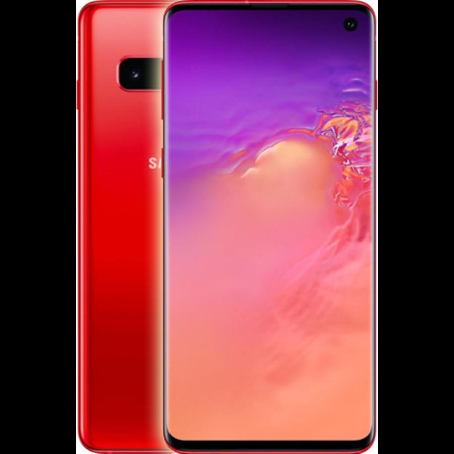 Samsung Galaxy S10 Dual Sim G973F 128GB Red (128GB Red)-1