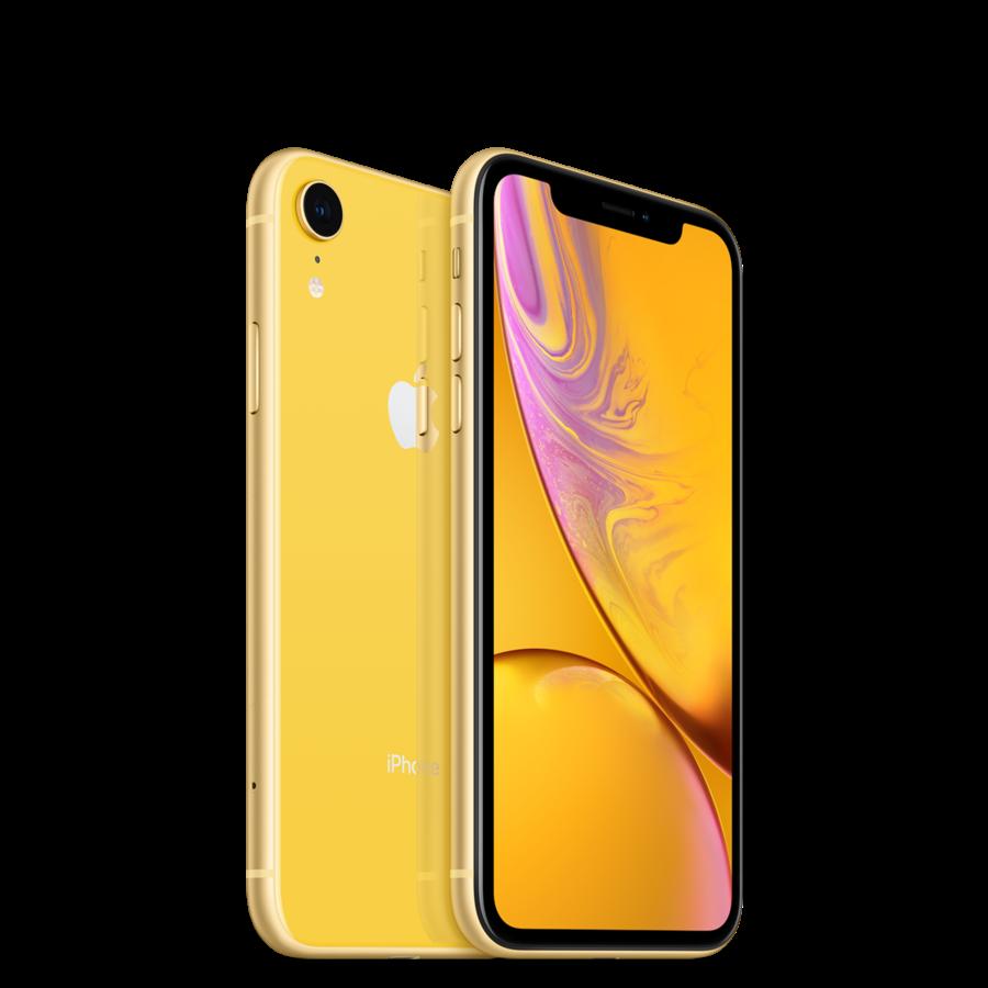 Refurbished iPhone XR 64GB Yellow-1