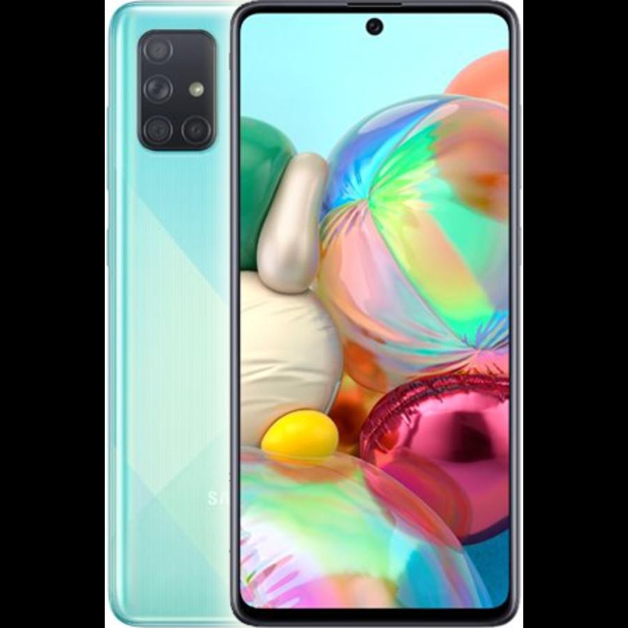 Samsung Galaxy A71 Dual Sim A715F 128GB Blue (128GB Blue)-1