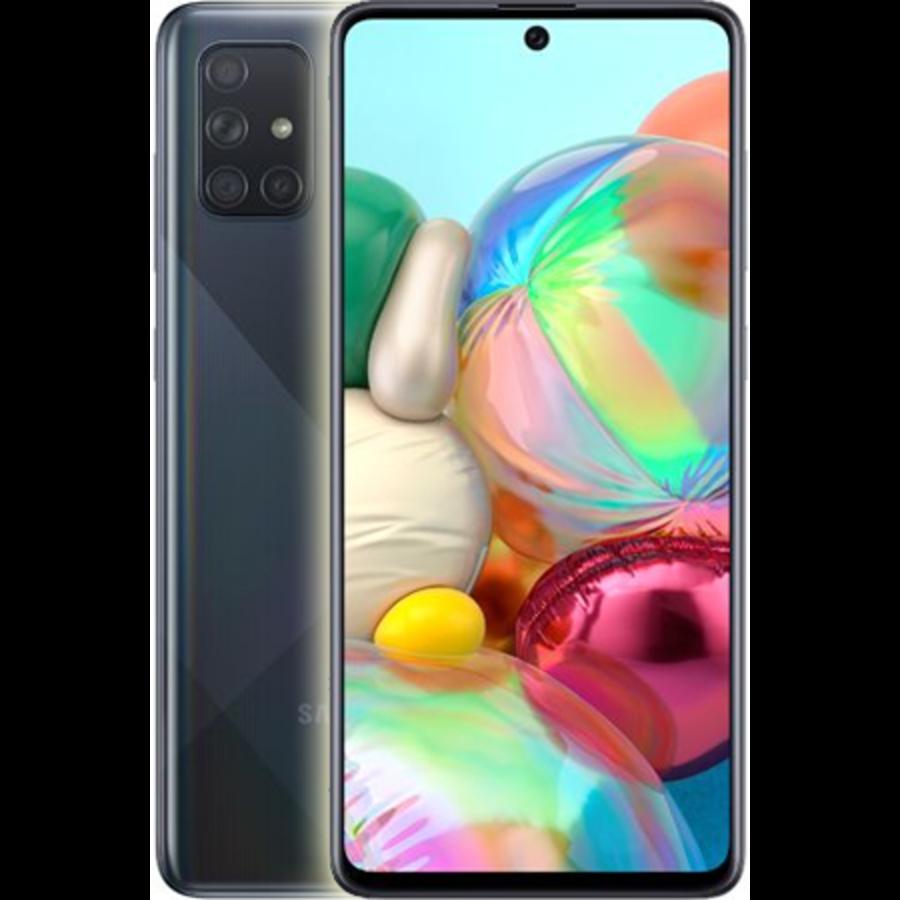 Samsung Galaxy A71 Dual Sim A715F 128GB Black (128GB Black)-1