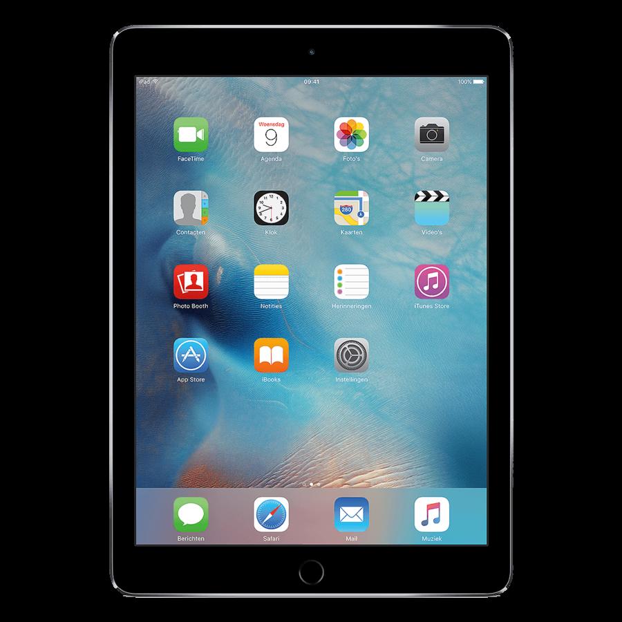 Refurbished iPad Air 2 Zwart 128GB Wifi Only-1