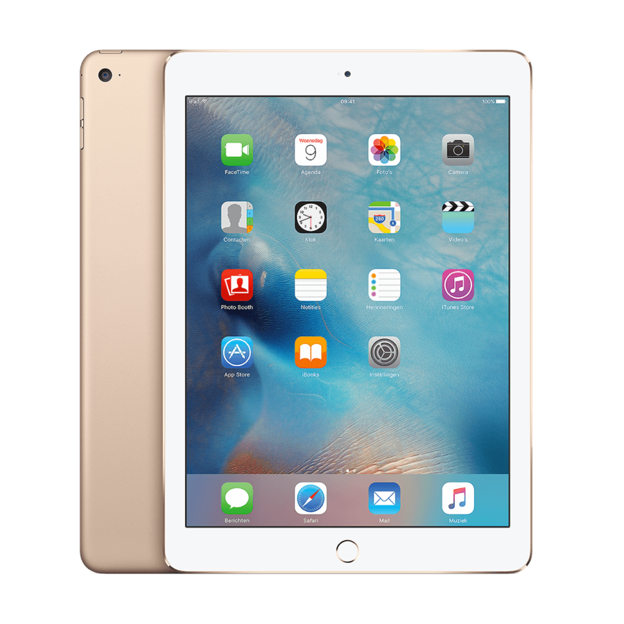 Refurbished iPad Air 2 Goud 128GB Wifi Only-1