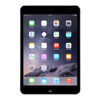Refurbished iPad Mini 3 Zwart 64GB Wifi Only