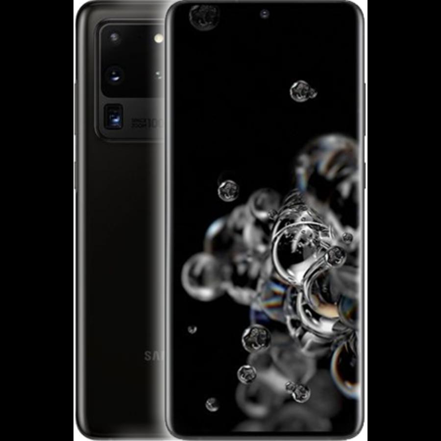 Samsung Galaxy S20 Ultra 5G Dual Sim G988F 128GB Cosmic Black (128GB Cosmic Black)-1