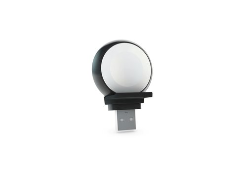 Zens Aluminium Apple Watch Charger USB A black