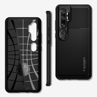 thumb-Spigen Rugged Armor for Mi Note 10 / 10 Pro matt black-1