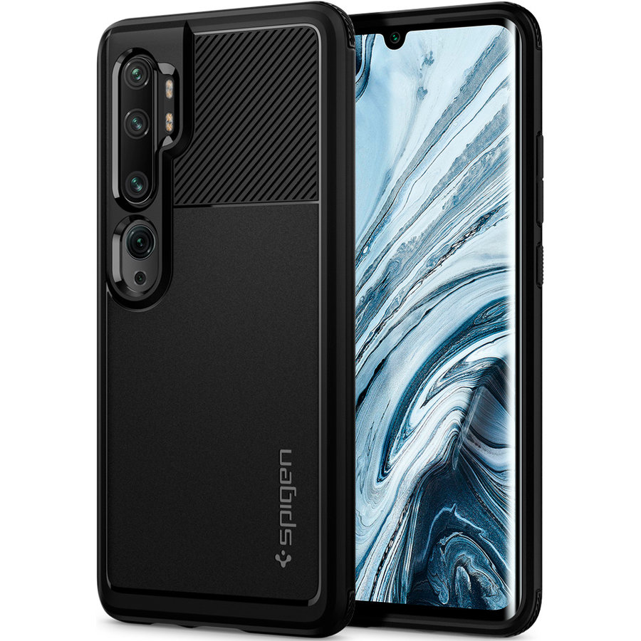 Spigen Rugged Armor for Mi Note 10 / 10 Pro matt black-2