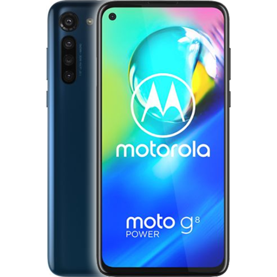 Motorola Moto G8 Power Dual Sim Blue (Blue)-1