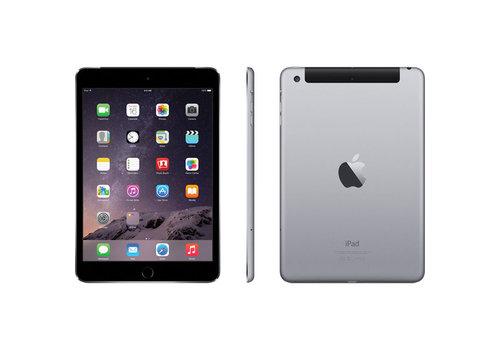 Refurbished iPad Mini 3 Zwart 64GB Wifi + 4G
