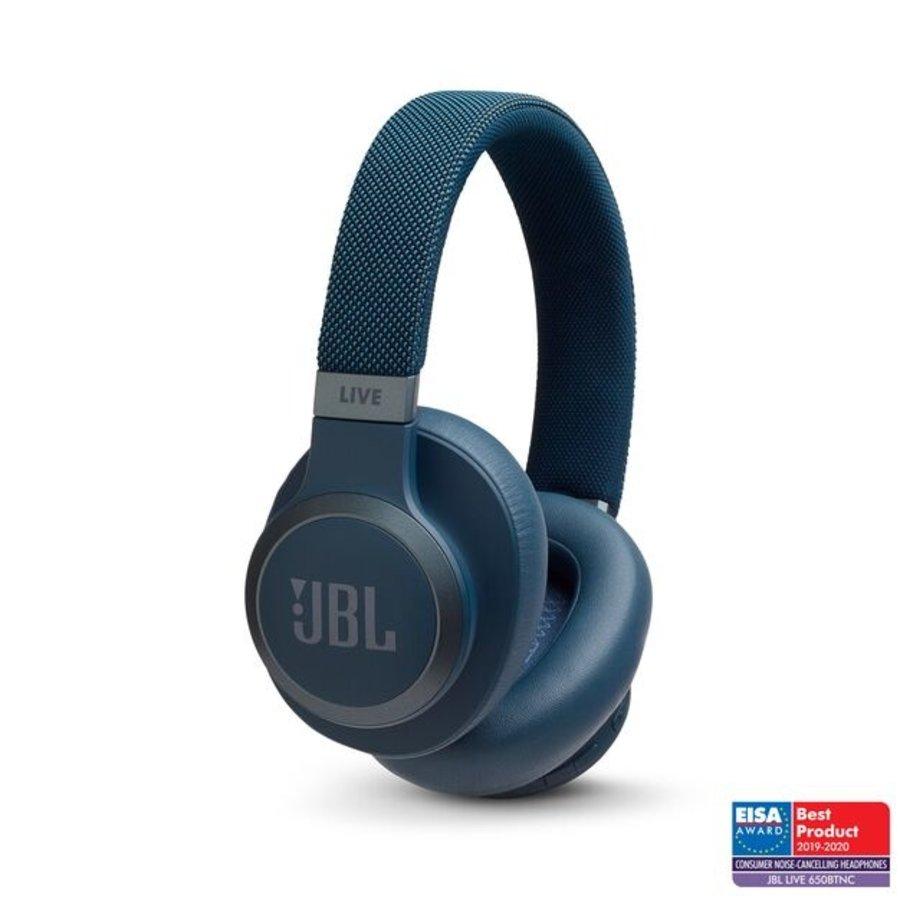 JBL Live 650BTNC hoofdtelefoon - blauw-1