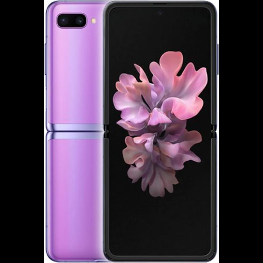 Samsung Galaxy Z Flip Dual Sim F700F 256GB Mirror Purple (256GB Mirror Purple)-1