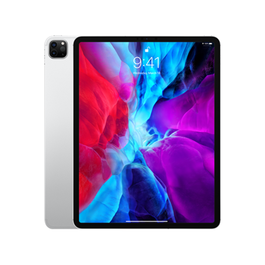 Apple iPad Pro 12.9 2020 WiFi + 4G 512GB Silver (512GB Silver)-1