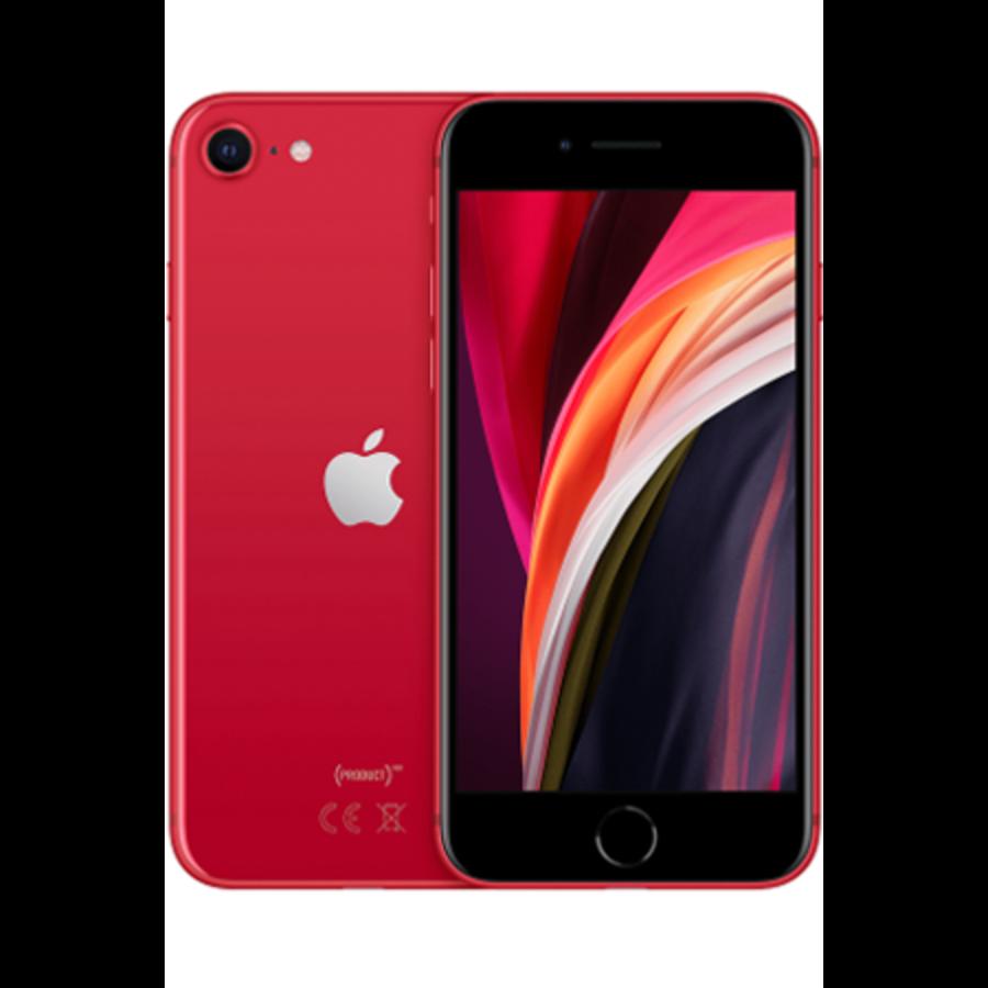 Apple iPhone SE 2020 128GB (Product) RED (128GB Black)-1