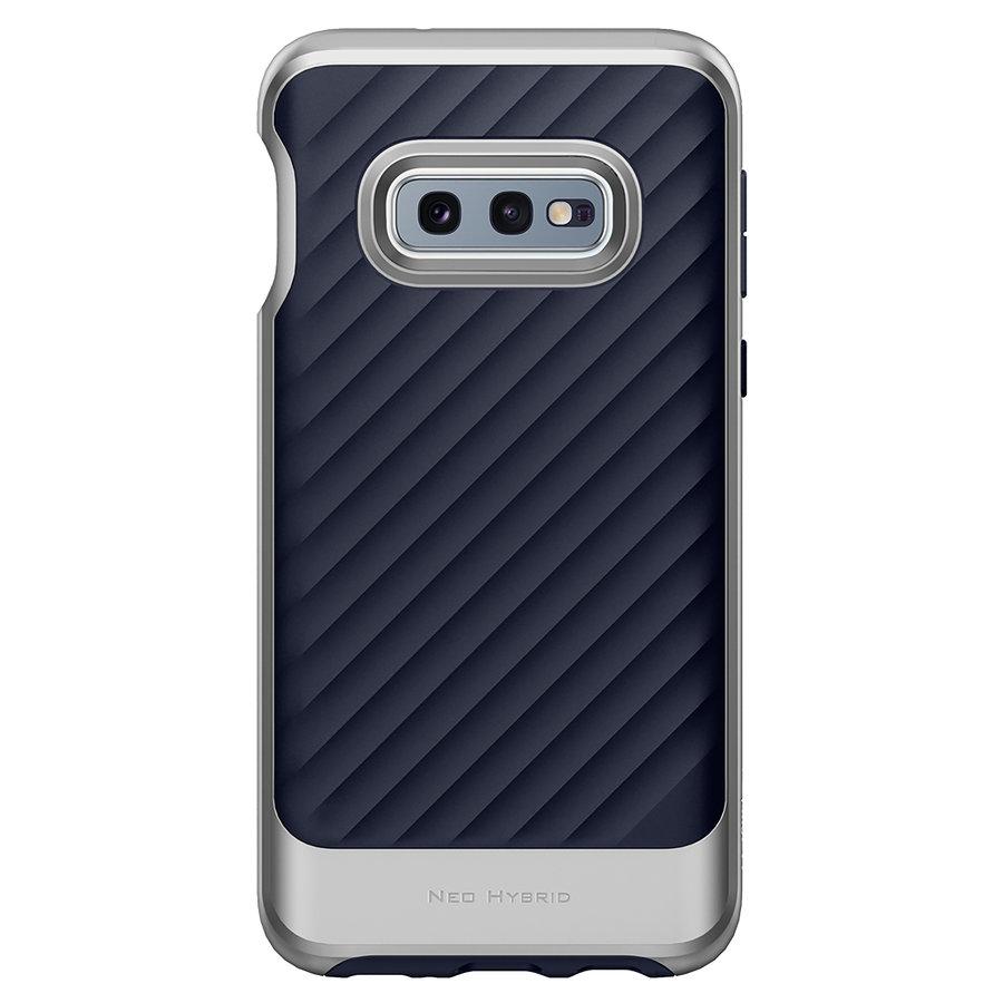 Spigen Neo Hybrid for Galaxy S10e silver colored-2