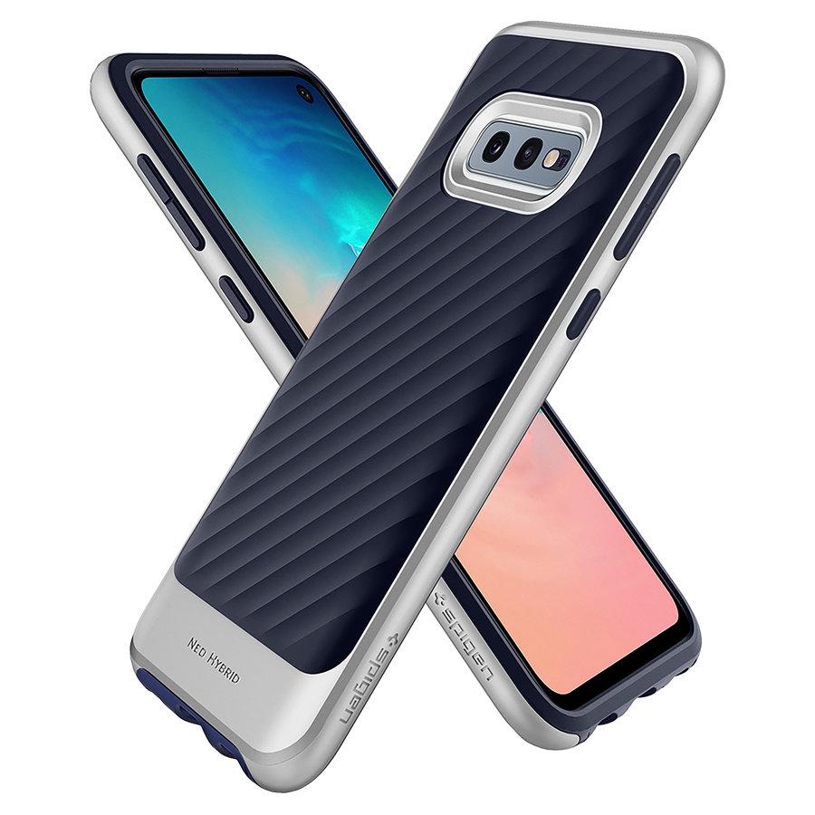 Spigen Neo Hybrid for Galaxy S10e silver colored-5