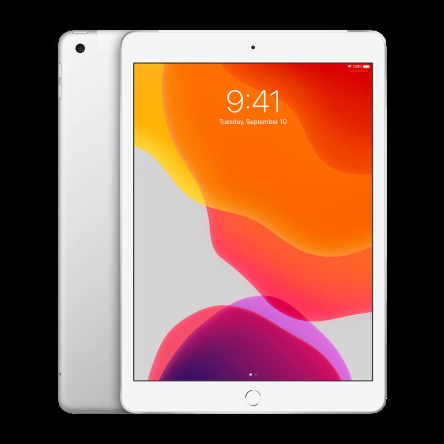 Refurbished iPad 2019 32GB Silver Wifi + 4G-1