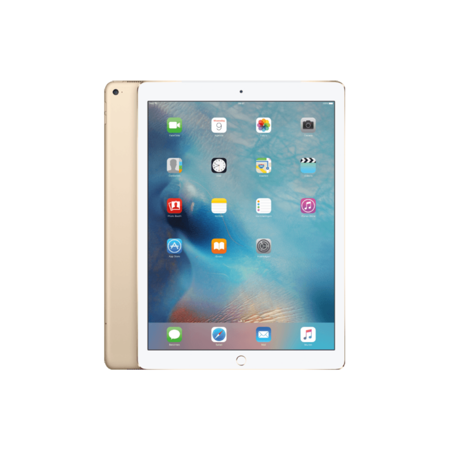 Refurbished iPad Pro 12.9 Inch (2017-versie) 64GB Gold Wifi + 4G-1