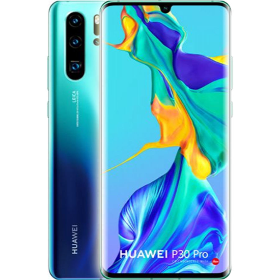 Huawei P30 Pro New Edition Dual Sim 256GB Aurora Blue (256GB Aurora Blue)-1
