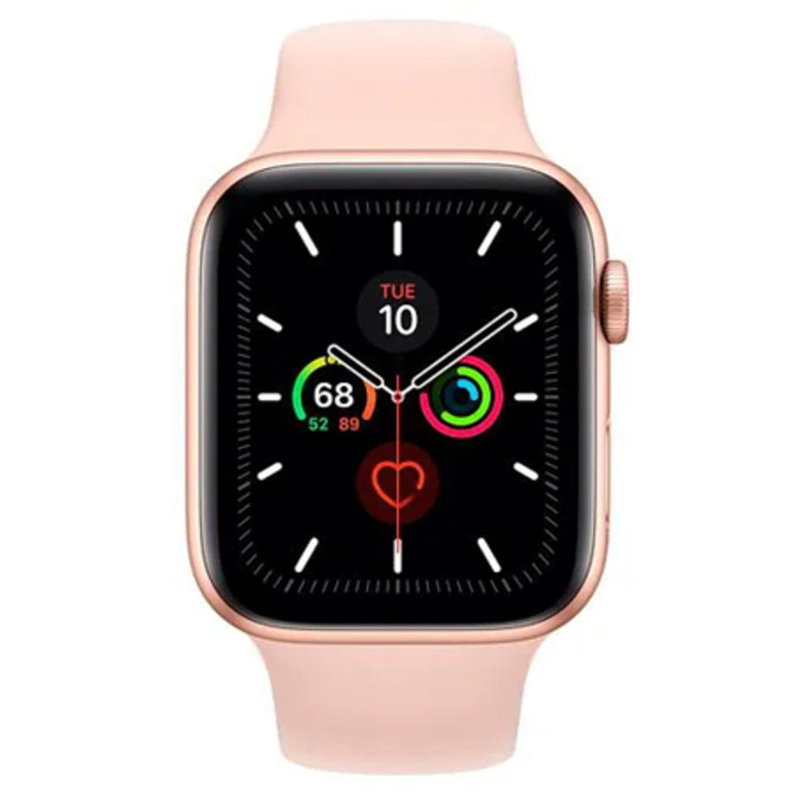 Apple Watch 5 Sport 44mm Rose Gold (MWVE2NF/A) (Rose Gold)-1