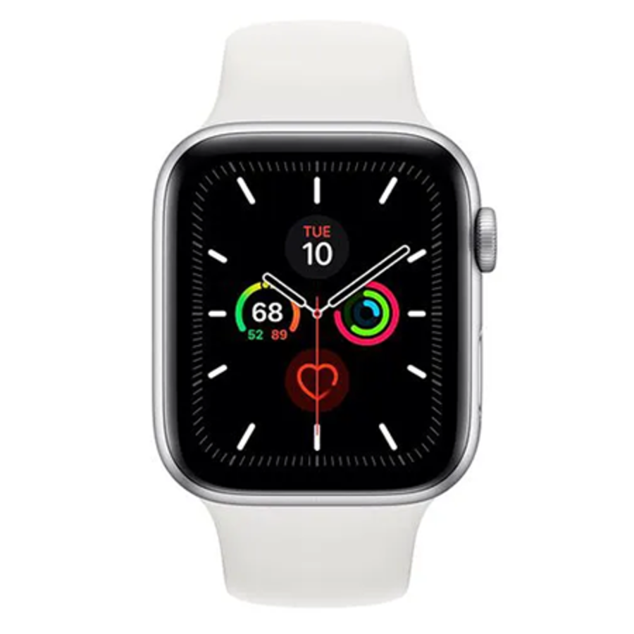 Apple Watch 5 Sport 44mm Silver (MWVD2NF/A) (Silver)-1