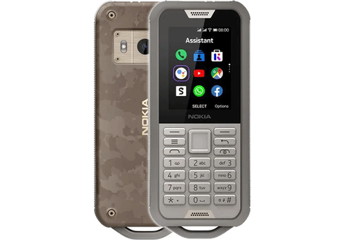 Nokia 800 Tough Grey Sand