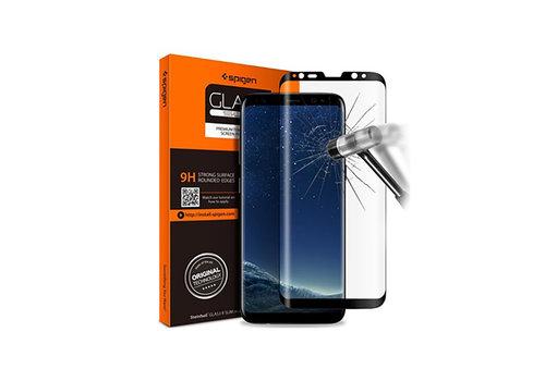 Spigen Glas.tR Curved HD for Galaxy S9+ black
