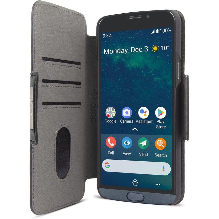 Doro Wallet Case 8050 - Black-1
