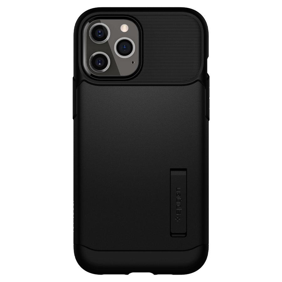 Spigen Slim Armor for iPhone 12 Pro Max black-2