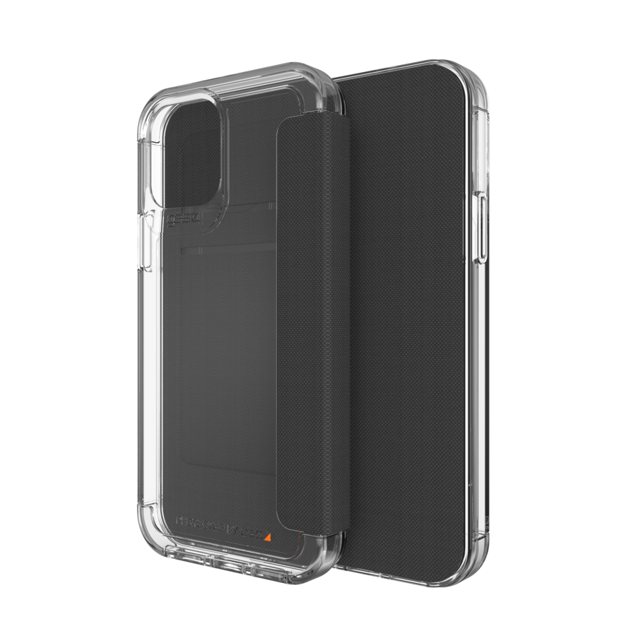 GEAR4 Wembley Flip for iPhone 12 / 12 Pro clear-1