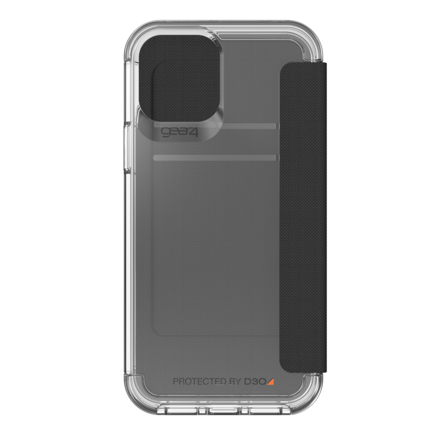 GEAR4 Wembley Flip for iPhone 12 / 12 Pro clear-2
