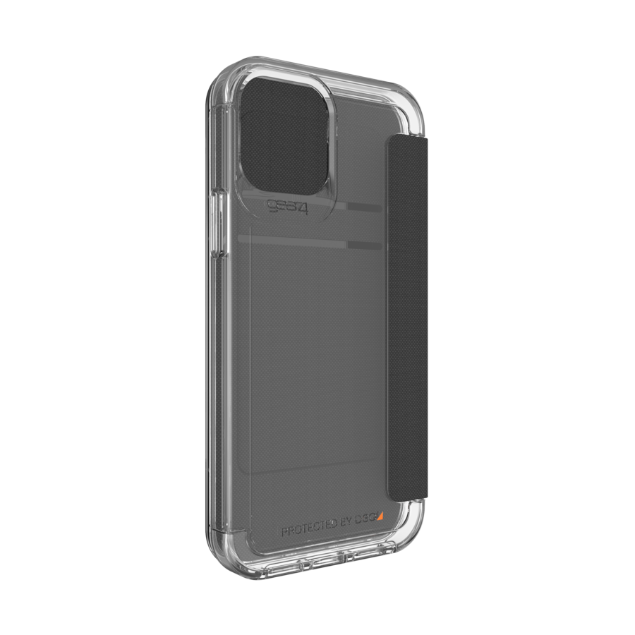 GEAR4 Wembley Flip for iPhone 12 / 12 Pro clear-3