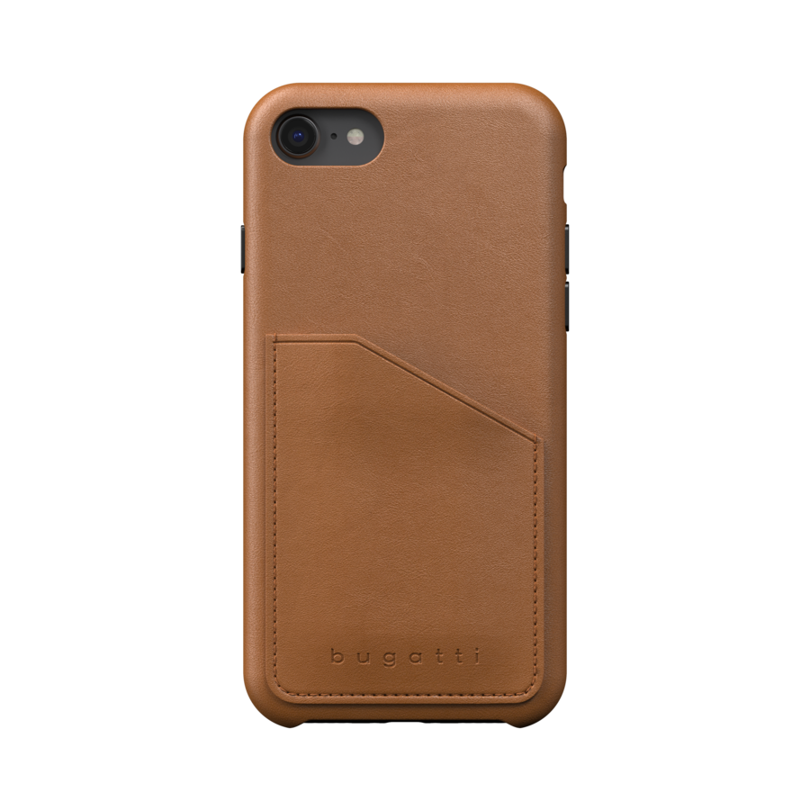 bugatti Londra Full Wrap With Pocket Case FW20 for IPhone 6/6s/7/8/SE 2G cognac-2