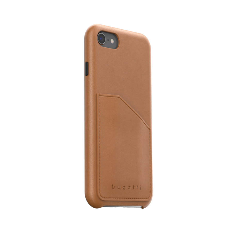 bugatti Londra Full Wrap With Pocket Case FW20 for IPhone 6/6s/7/8/SE 2G cognac-4
