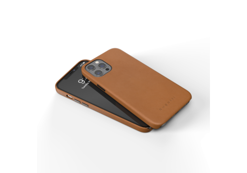 bugatti Porto Full Wrap Case FW20 for iPhone 12 Pro Max 6.7 cognac