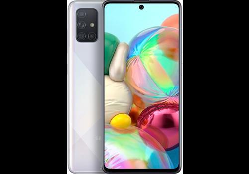 Samsung Galaxy A71 Dual Sim A715F 128GB Silver Beschadigde Doos